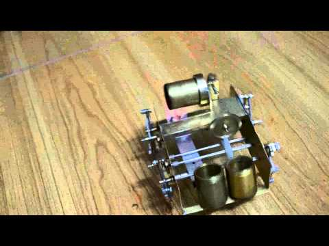 diy steam engine -