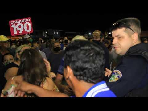 Falta de organização causa tumulto na vacinação de Ji-Paraná e vira caso de polícia – VIDEO