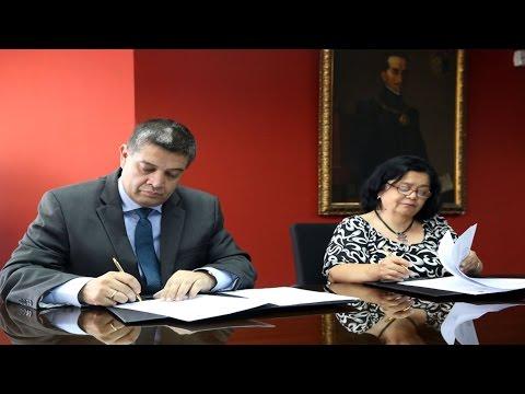 Firman convenio que pone en valor ediciones históricas de Diario El Peruano (видео)