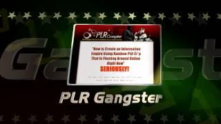 PLR Gangster YouTube video