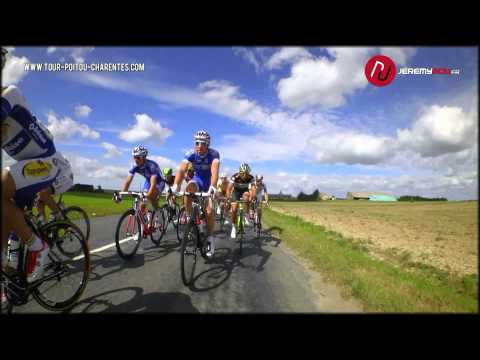 Video: On-bike camera captures peloton at Tour du Poitou Charentes