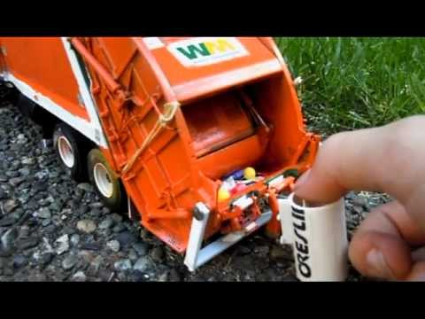 read description - Here are my first gear trucks! Hope you like the video. Most of these trucks have been made by me. Like the Curbtender and Scorpion. I did modify that Ray Bros. hopper to made it shorter. I...