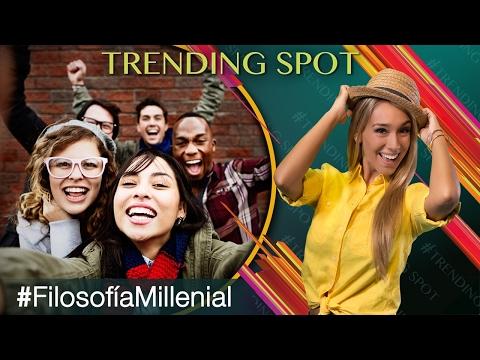 Los millennials y su manera de ver y disfrutar la vida.