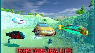 Flying Submarine Racing Car