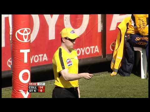 Amazing Heath Shaw Smother Against Nick Riewoldt 2010 AFL Grand Final Replay Collingwood vs St Kilda