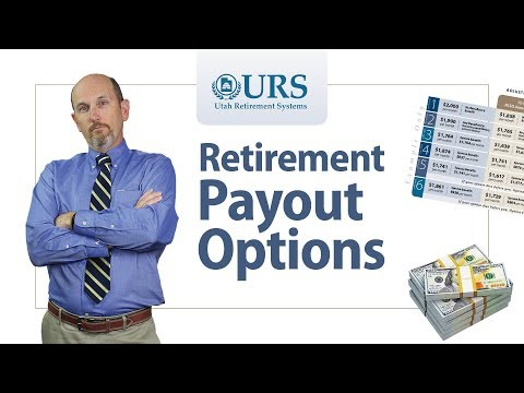 Payout Options at Retirement