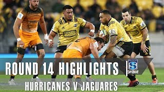Hurricanes v Jaguares Rd.14 2019 Super rugby video highlights | Super Rugby Video Highlights