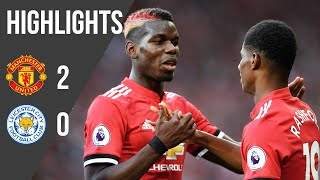 Download Video Manchester United 2-0 Leicester (17/18) | Premier League Highlights | Manchester United MP3 3GP MP4