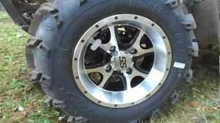 6. 25 inch  Mud Lite XL on ITP SS108 Alloy Series Machined - 2011 Kawasaki BRUTE FORCE 750 4x4i