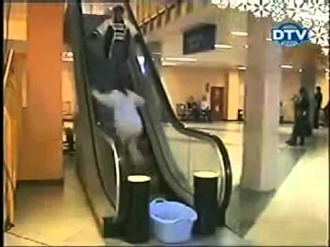 Pokretne stepenice - skrivena kamera