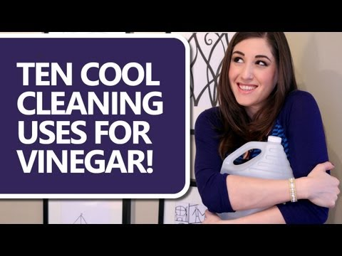 10 Ways to Clean With Vinegar! How to Clean with Vinegar and Save Time & Money (Clean My Space)