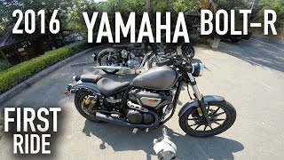 4. 2016 Yamaha Bolt-R - First Ride