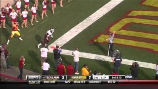 Ryan Tannehill vs Iowa State (2011)