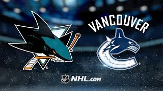 Jones, Tierney lead Sharks to 4-1 win vs. Canucks by NHL