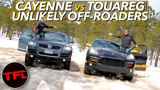 Old vs Older: Is $27K of Used German 4x4's and a Combined 800 HP Better Than a New Subaru Off-Road by The Fast Lane Car