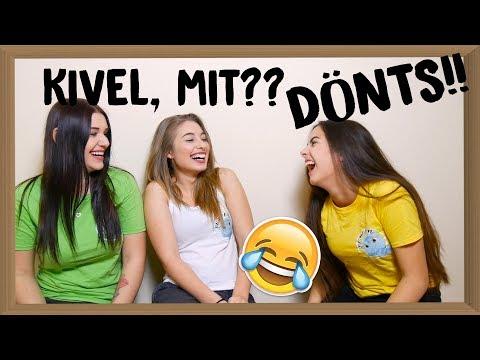 Video DÖNTS #1 - Kivel mit?? download in MP3, 3GP, MP4, WEBM, AVI, FLV January 2017