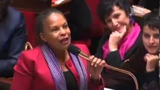 Video Christiane Taubira défend le mariage pour tous avec vigueur à l'Assemblée Nationale. MP3, 3GP, MP4, WEBM, AVI, FLV September 2017