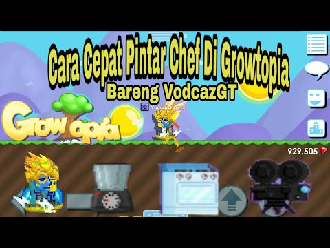 GROWTOPIA Cooking Recipes #Growtopia Role Quest Chef