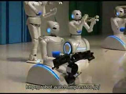 0 Toyota Robots Perform Symphony in Brass picture