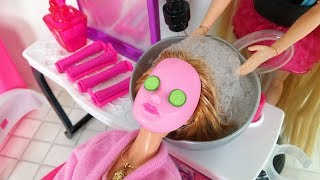 Video Barbie Doll Hair Salon - Cinderella Barbie Hair Cut Hair Washباربي صالون الشعرBarbie Salão de Beleza MP3, 3GP, MP4, WEBM, AVI, FLV Januari 2018
