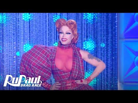 Red for Filth Runway 'Deleted Scene'   RuPaul's Drag All Stars