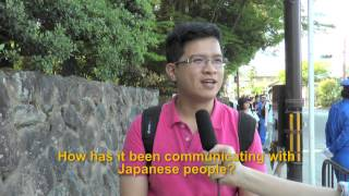 Travelers' Voice of Kyoto KINKAKU-JI Area Interview 003