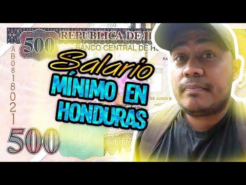 Alcanza el SALARIO MINIMO para VIVIR en Tegucigalpa - Honduras ?