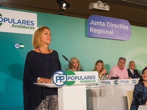 """Cospedal: """"El PP es la única garantía de que la consolidación de la recuperación económica y el empleo sea una realidad"""""""