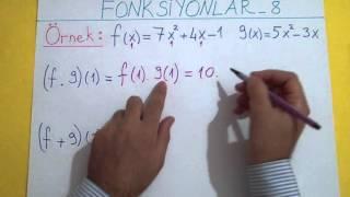 FONKSİYONLAR 8 - Şenol Hoca