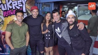 Richa Chadda, Pulkit Samrat, Ali Fazal are at Fukrey Returns Promotion | YOYO Cine Talkies