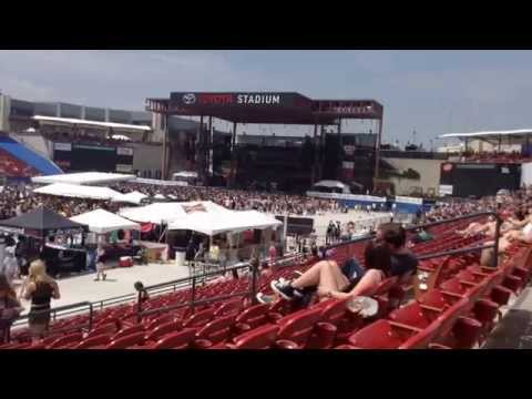 Edgefest 2014 at Frisco, Texas (видео)