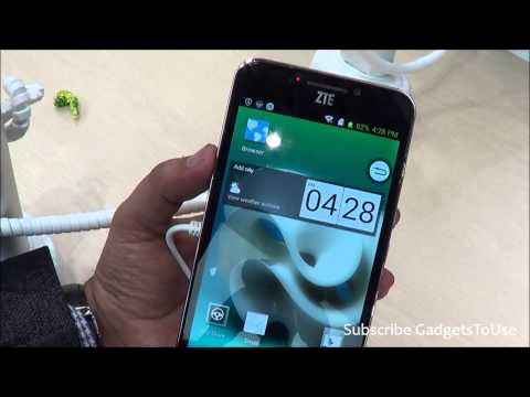 ZTE Grand S2 Hands on, Quick Review, Camera, Features and Overview HD at MWC 2014