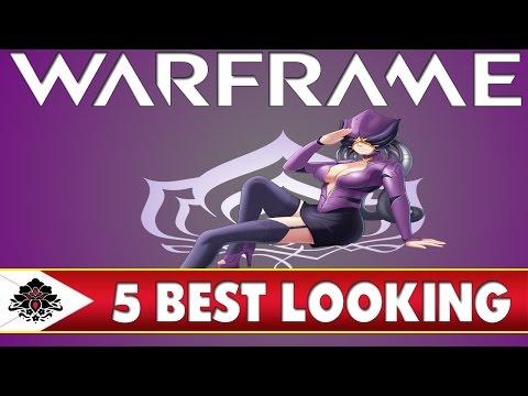 Warframe Top 5 Best looking Warframes (Subscriber List)