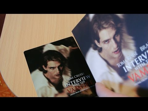INTERVIEW WITH THE VAMPIRE  Full-Slip Steelbook Blu-Ray Filmarena.cz exklsuiv Unboxing