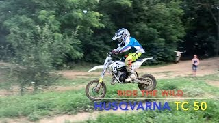 4. Husqvarna TC50 in Action