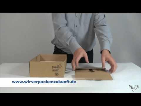 Scatola pieghevole automontante ColomPac® CP 121