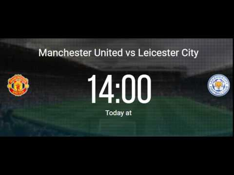 Manchester United Vs Leicester City (direct Link)