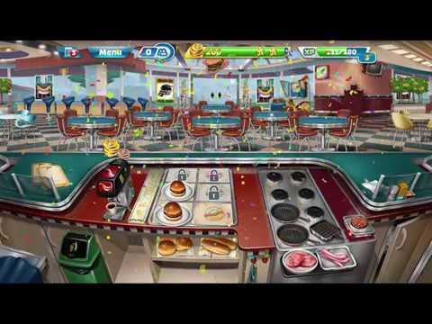 Cooking Fever  - Gameplay Unlock Lv15- Master Chef- Restaurant