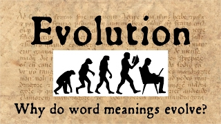 """What are the mechanisms of semantic change? And how does the etymology of the word 'evolution' reflect these changes? It turns out that the history of book production ties all these things together!This video is part of a series of videos by a bunch of YouTubers on the evolution of all sorts of amazing things--from sexuality to selfies to glaciers! Check out the playlist to learn more: https://www.youtube.com/playlist?list=PLlDwZNRMgsJLxbq9dnwUAi6zVWpT7ZCPnAmerican Adventure Survival Science: How Have Glaciers Evolved? https://youtu.be/LBC7Xv9LbWI ARTexplains: The Sea Serpent Whale Basilosaurs https://youtu.be/eoj1YJ067o0LeiosOS: How Algorithms Evolve https://www.youtube.com/watch?v=qiKW1qX97qAConjecture: The Evolution of Facial Expressions https://youtu.be/pXjrWF6b_eETechnicality: The Evolution of the Selfie https://youtu.be/waxk0tGm2H0 Draw Curiosity: Why Did Two Sexes Evolve? https://youtu.be/ehuEaLvA1B4Soliloquy: Why Did Homosexuality Evolve? https://youtu.be/UsX2vfFNPakFor further explorations of these subjects, check out Thorneloe University's courses in the Humanities, including """"Greek and Latin Roots of English"""" and other Ancient Studies courses, online and on campus in Sudbury, Ontario. http://www.thorneloe.ca/endlessknotThank you to all our Patreon supporters! Please check out our Patreon: https://www.patreon.com/TheEndlessKnotEndless Knot merchandise can be found in our store: http://www.cafepress.ca/endlessknotShow notes & credits: http://www.alliterative.net/evolutionTranscript: http://www.alliterative.net/evolution-transcriptRelated blog post: http://www.alliterative.net/blog/2017/2/13/the-evolution-of-evolutionRelated podcast: http://www.alliterative.net/podcast/2017/2/24/episode-29-evolution-with-ray-belli Website: http://www.alliterative.net/Blog: http://www.alliterative.net/blogTwitter: https://twitter.com/alliterativeFacebook: https://www.facebook.com/alliterativeendlessknotGoogle Plus: https://plus.google.com/115113245513532543153/aboutTumbler: h"""