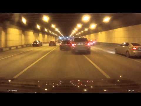 Idioci na rosyjskiej autostradzie