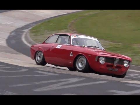 alfa romeo classiche al nurburgring