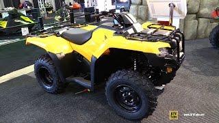 9. 2015 Honda TRX420 DCT EPS Utility ATV - Walkaround - 2014 Toronto Snowmobile & ATV Show