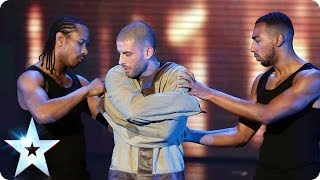 Download Video Darcy Oake's Jaw-dropping escape | Britain's Got Talent 2014 Final MP3 3GP MP4
