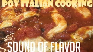Sound of Flavor - Chicken Puttanesca by POV Italian Cooking