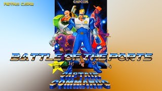 Please think about supporting the show by subscribing to the channel or becoming my patron. Thank you so much!http://www.patreon.com/bofpEmail at mes1975jp@gmail.comFacebook - Retro Core BotPTwitter - @RetroCoreYakumo--------------------------------------------------------------------Captain Commando was originally a company mascot for Capcom USA appearing on various NES games manuals.  Finally he got his own game from Capcom Japan which is pretty good but how well did it port to other systems?Please not that the only ports of this game are on the PlayStation and Super Famicom / SNES.  All other versions are emulated arcade ROMS so they are not featured on this show.Time Code00:19 - Arcade03:03 - Super Famicom / SNES05:02 - PlayStation07:31 - All versions side by sideEnjoy!