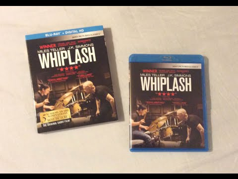 Whiplash (2014) Blu Ray Review and Unboxing