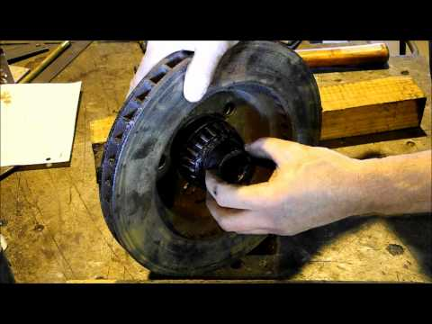 1975 Dodge Power Wagon Front Rotor Replacement