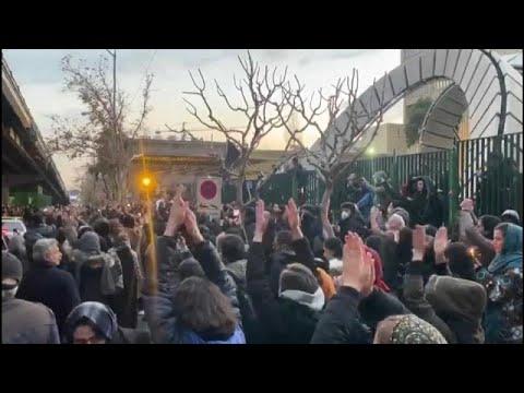 Iran: Wut der Iraner nach dem Flugzeugabschuss »Tod d ...
