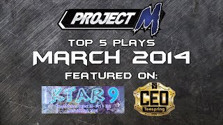 Best of Smash: Top 5 Project M Plays of March 2014