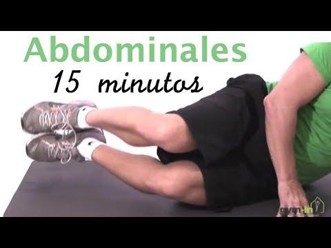 Clase de abdominales para tonificar y fortalecer músculos